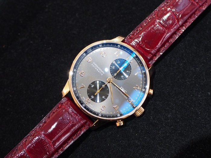 【ジャン・ルソー】世界に一つだけの時計!?ご自身の時計をオンリーワンの時計に変身いたします!-IWC Jean Rousseau スタッフのつぶやき -P4210010-700x525