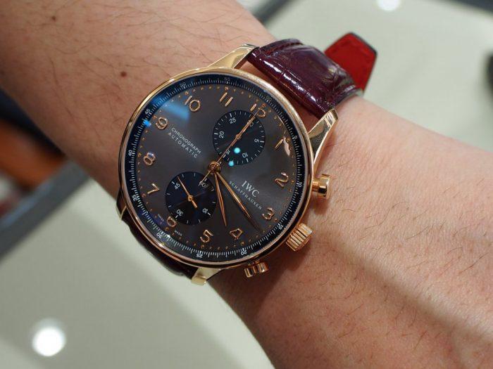 【ジャン・ルソー】世界に一つだけの時計!?ご自身の時計をオンリーワンの時計に変身いたします!-IWC Jean Rousseau スタッフのつぶやき -P4210012-700x525
