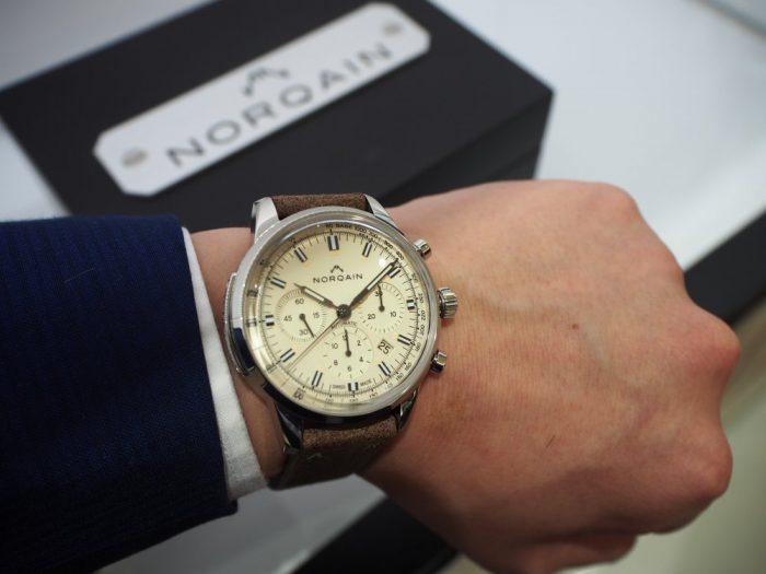 取り扱い開始!新ブランド「ノルケイン」が実現した本物のスイス時計に感動! -NORQAIN 鹿児島店からのお知らせ -P4250048-700x525