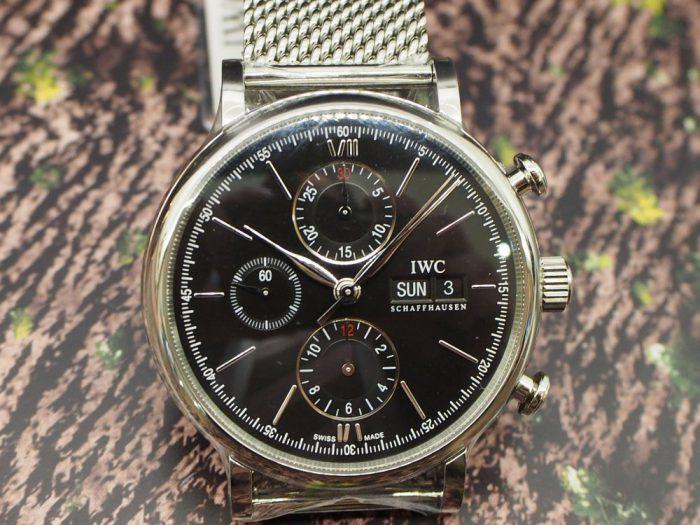 IWC ポートフィノ クロノグラフは美しい曲線と上品さを極める大人時計。-IWC -P5100094-700x525