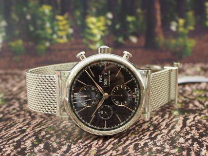 IWC ポートフィノ クロノグラフは美しい曲線と上品さを極める大人時計。