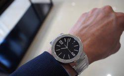 シンプルエレガントな時計「ブルガリ ブルガリ ソロテンポ」