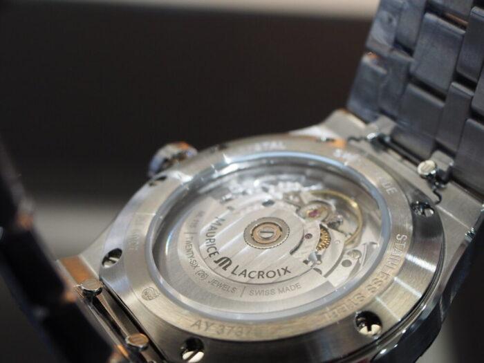 モーリス・ラクロアといえばアイコン!大人気モデル入荷しました「モーリスラクロア アイコン オートマティック 39㎜」-MAURICE LACROIX -P5300013-700x525