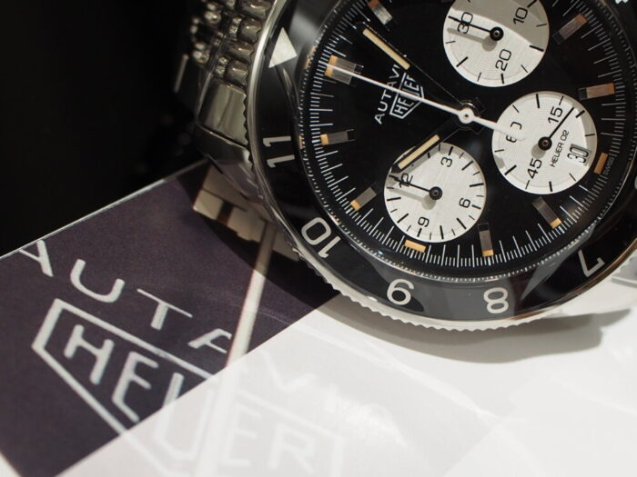 オウタヴィア ~ 1960年当時を彷彿とさせるヴィンテージウォッチ-TAG Heuer -P6140050-700x525
