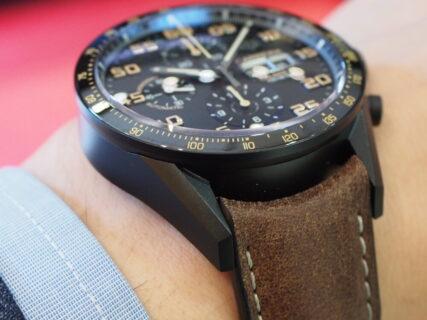 ブラックの時計。「PVD」と「DLC」の違いとは!?