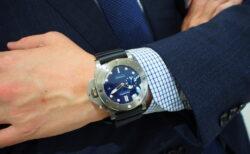 """世界初の新素材 """"BMG-TECH™""""とは??タフに使える高級時計!!パネライ「PAM00692」"""
