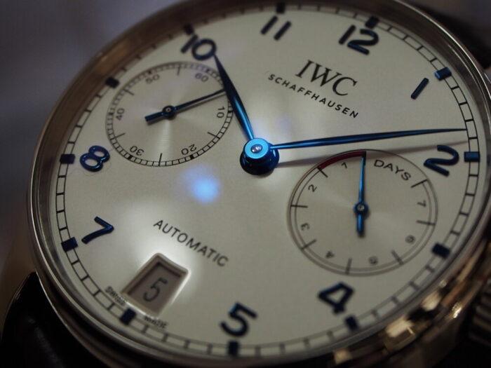高級感・使うシーン・実用性、全てを兼ね備えた一本!IWC「ポルトギーゼ・オートマティック」-IWC スタッフのつぶやき -P6300070-700x525