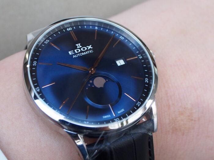 この美しい時計は? レ・ヴォベール ラ・グランデ ルーン オートマチック-EDOX -P7010084-700x525