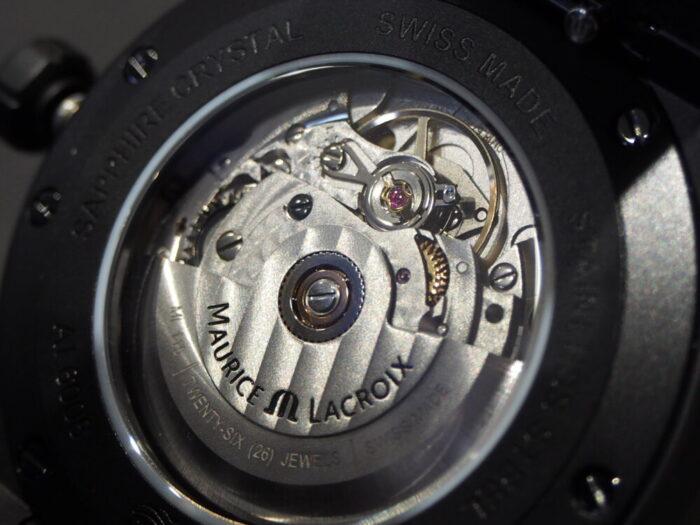 カジュアルスタイルをさり気なく格上げしてくれる一本!モーリス・ラクロア「アイコン オートマティック ブラック」-MAURICE LACROIX スタッフのつぶやき -P7050122-700x525