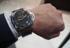 珍しいステンレスブレスレットの時計「ボーイフレンド ツイード」