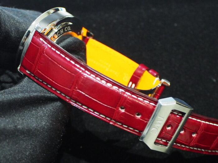 【ジャン・ルソー】ベルトを替えるだけで時計がよりオシャレに大変身!-IWC Jean Rousseau スタッフのつぶやき -P8170200-700x525