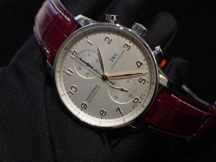 【ジャン・ルソー】ベルトを替えるだけで時計がよりオシャレに大変身!-IWC Jean Rousseau スタッフのつぶやき -P8170201-700x525