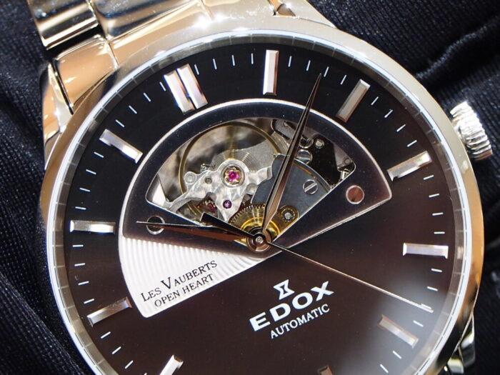 10万円台で手に入る機械式時計!EDOX「レ・ヴォベール オープンハート オートマティック」-EDOX スタッフのつぶやき -P9230625-700x525
