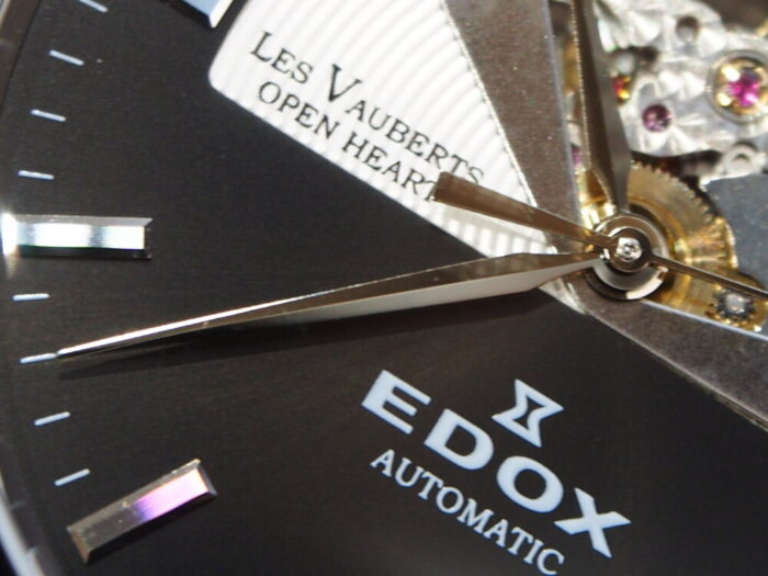 10万円台で手に入る機械式時計!EDOX「レ・ヴォベール オープンハート オートマティック」-EDOX スタッフのつぶやき -P9230633-700x525
