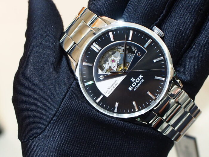 10万円台で手に入る機械式時計!EDOX「レ・ヴォベール オープンハート オートマティック」-EDOX スタッフのつぶやき -P9230639-700x525