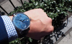 定期的にゼンマイの巻き上げが必要な手巻き式時計に愛着が深まる / IWC ポートフィノ