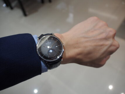 秋と言えばお月様。ムーンフェイズの機械式腕時計「EDOX レ・ヴォベール ラ・グランデ・ルネ オートマチック」