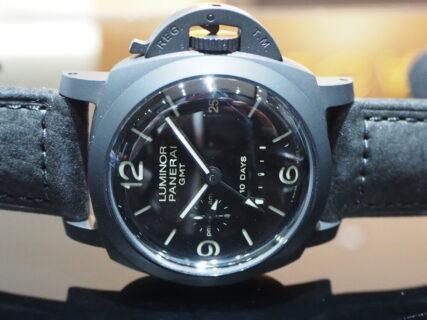 憧れのブラックパネライは自動巻き10Daysのハイスペックモデル!!PAM00335