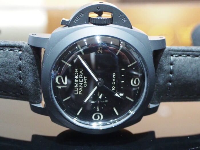 憧れのブラックパネライは自動巻き10Daysのハイスペックモデル!!PAM00335-PANERAI -PB090184-700x525