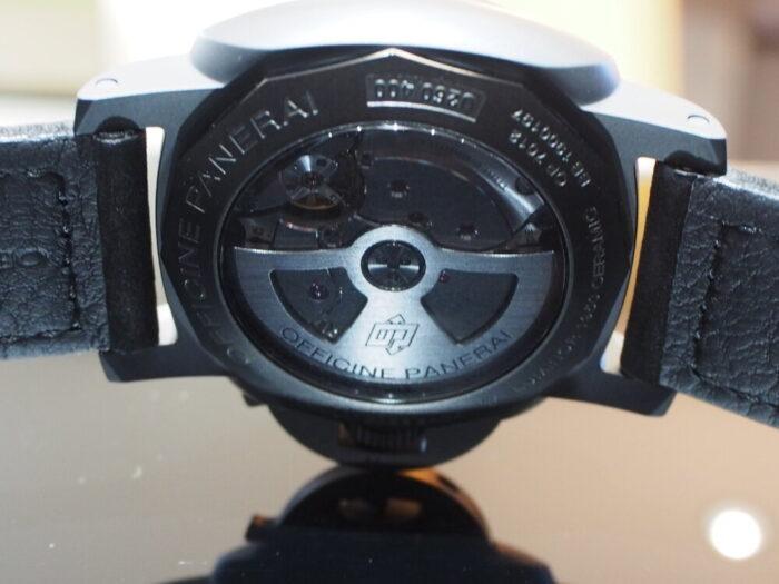 憧れのブラックパネライは自動巻き10Daysのハイスペックモデル!!PAM00335-PANERAI -PB090199-700x525