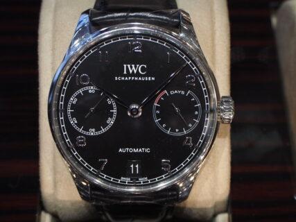 実用的かつ永く使えるIWCの傑作モデル!!「ポルトギーゼ・オートマティック(IW500703)」