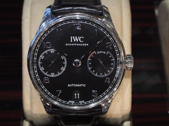 実用的かつ永く使えるIWCの傑作モデル!!「ポルトギーゼ・オートマティック(IW500703)」-IWC スタッフのつぶやき -PB090221-700x525