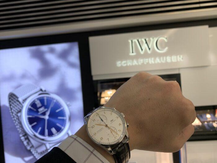 2019年12月1日発売開始の新型 IWC ポルトギーゼクロノグラフがoomiya鹿児島店にやってきた!-IWC -IMG_9921-700x525
