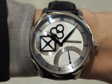 ハイコスパな複雑時計「マスターピース スクエアホイール レトログラード 」