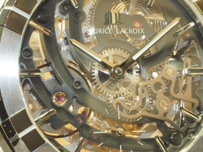 新作入荷情報!「モーリス・ラクロア アイコン オートマティック スケルトン」-MAURICE LACROIX -PC260179-700x525