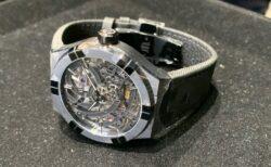 【新作入荷】世界に250本しかないスケルトン時計!!モーリスラクロア「アイコン オートマティック スケルトン ブラック」