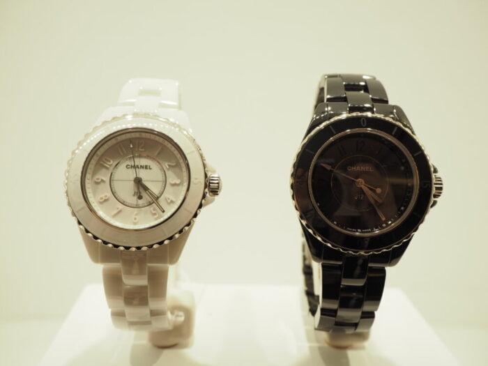 一流ファッションブランドの時計はどんな服装にも合わせやすい!!シャネル「J12 ファントム」(H6345/H6346)-CHANEL スタッフのつぶやき -P1170407-700x525