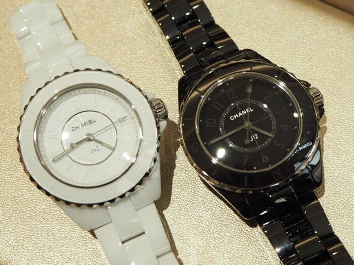 一流ファッションブランドの時計はどんな服装にも合わせやすい!!シャネル「J12 ファントム」(H6345/H6346)-CHANEL スタッフのつぶやき -P1170415-700x525