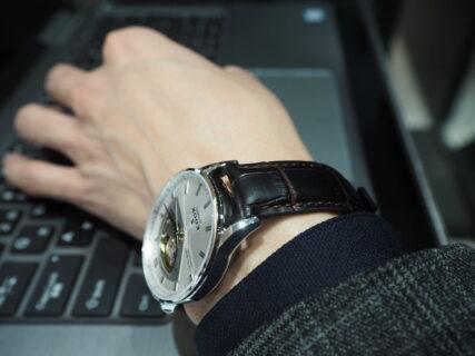 新社会人からの本格機械式時計「エドックス レ・ヴォーベル オープンハート オートマチック」