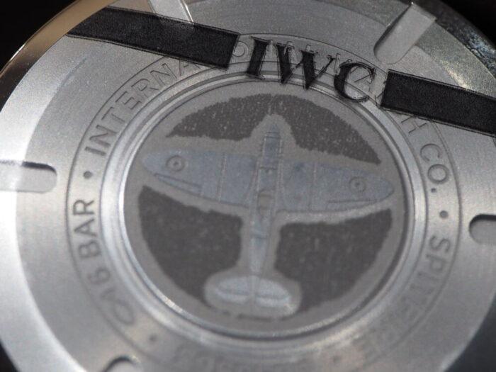 IWC パイロットウォッチ・オートマティック・スピットファイアを見に行こう!-IWC -P1230514-700x525