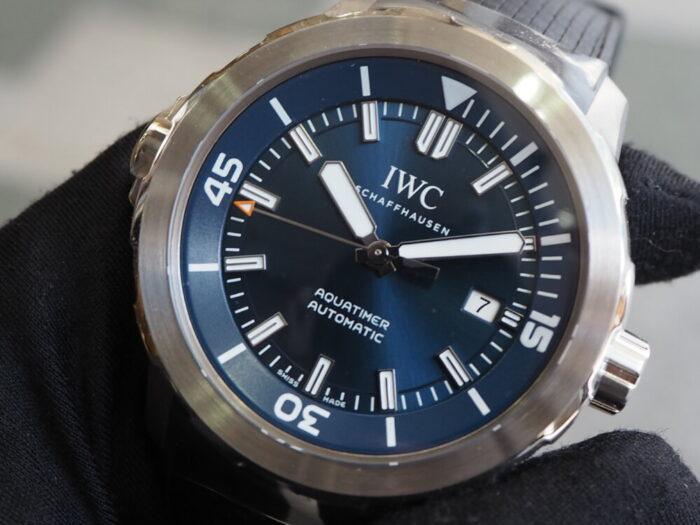 """良い時計を気兼ねなく日常使いしたいのなら、IWC「アクアタイマー・オートマティック """"エクスペディション・ジャック=イヴ・クストー""""(IW329005)」-IWC -P1310596-700x525"""