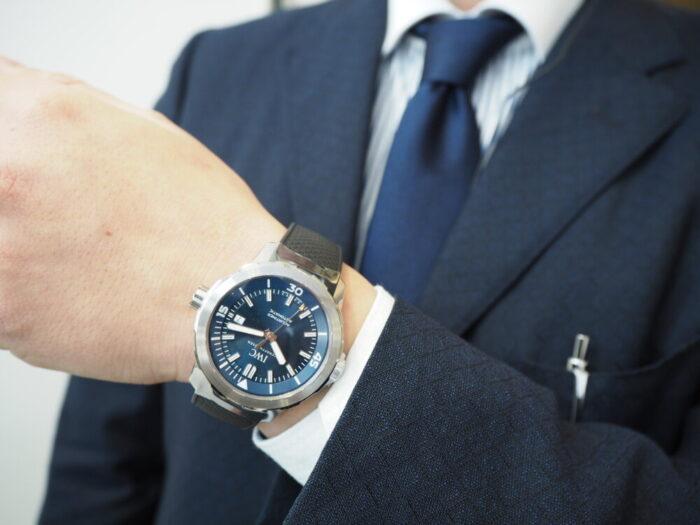 """良い時計を気兼ねなく日常使いしたいのなら、IWC「アクアタイマー・オートマティック """"エクスペディション・ジャック=イヴ・クストー""""(IW329005)」-IWC -P1310602-700x525"""