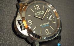 生産終了 パネライの歴史を感じるレフトハンド8デイズ PAM00796