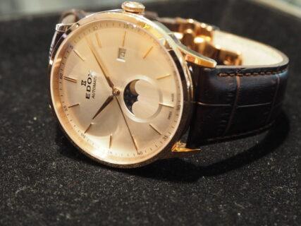 クラシックな機械式時計をこの価格で エドックス レ・ヴォベール ラ・グランデ ルーン オートマチック