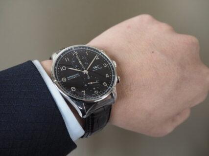 """初めての高級時計を選ぶポイントは""""自分らしさ"""" / IWC ポルトギーゼクロノグラフ"""