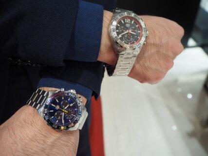 名門時計ブランドの新作モデルが10万円台で手に入る「フォーミュラ1 クロノグラフ」