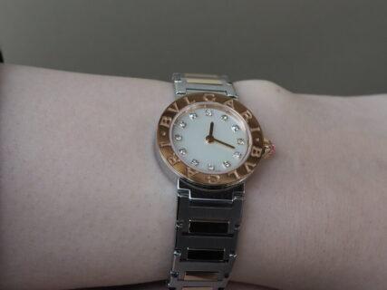 イタリア生まれの粋な腕時計 ブルガリブルガリ レディ入荷