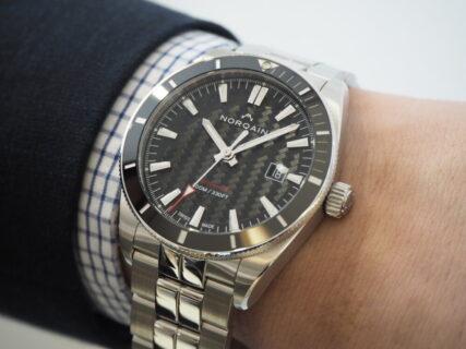 20万円台でも妥協のない機械式時計だからこそ売れています。ノルケイン「アドベンチャー スポーツ オート」