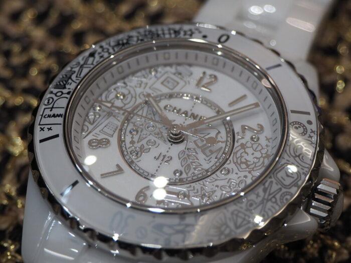 【シャネル】2020年新作、CHANEL好きには堪らない時計です。「J12・20」-CHANEL -P5020399-700x525
