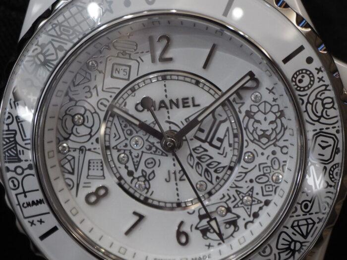 【シャネル】2020年新作、CHANEL好きには堪らない時計です。「J12・20」-CHANEL -P5020403-700x525