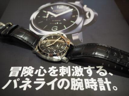 パネライ ルミノール 8デイズ GMTは、世界中のファンを魅了し続ける / PAM00233