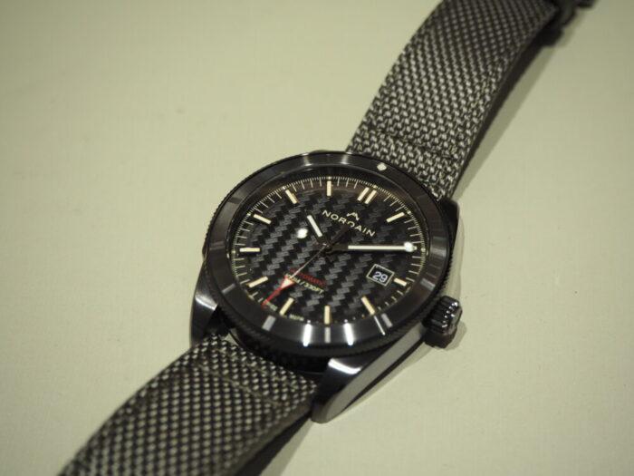 【ノルケイン】スポーティーで男らしい時計「アドベンチャースポーツ オートDLC」-NORQAIN -P5170011-700x525