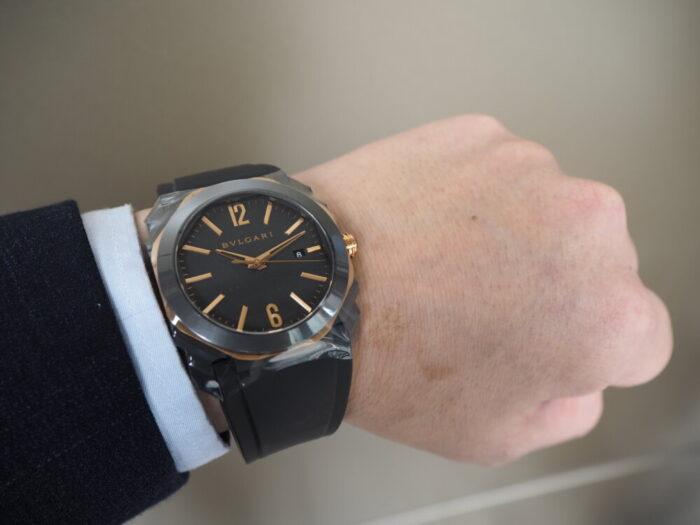 ブルガリだから出来る古典とモダンの融合+高い芸術性を兼ね備えた腕時計/オクト-BVLGARI -P5240059-700x525