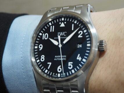IWCマークシリーズは後継モデルも優秀なんです。 IWC パイロット・ウォッチ・マーク XVIII