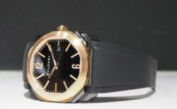 【ブルガリ】高級時計をラバーベルトで気軽に楽しむ季節です「オクト オリジナーレ」