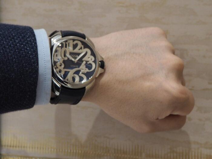 この夏着けたくなる魅力が詰まったイタリア時計 オッソイタリィヴィゴローソ SN01-OSSO ITALY スタッフのつぶやき -P6020189-700x525